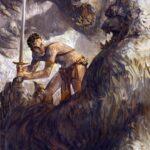 Jared Shear, science fiction, art, Princess of Mars, white apes, John Carter, illustration, Edgar Rice Burroughs
