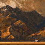 Jared Shear, cougar peak, Montana, art, painting, mountain, landscape, plein air, October